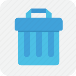 can, delete, garbage, junk, trash, trashcan icon