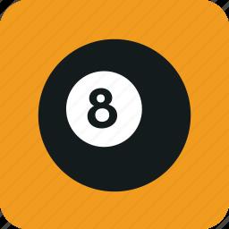 ball, eight, eight ball, magiceightball, pool, snooker icon