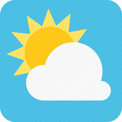 cloud, clouds, cloudy, day icon