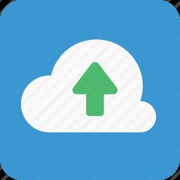 big data, cloud, cloud drive, cloudupload, data, up, upload icon