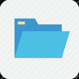 archive, file, filing, folder, openfolder, storage, store icon