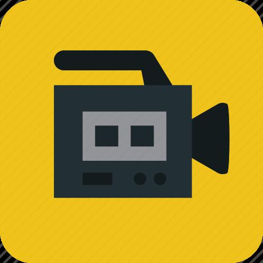 camera, digitalvideocamera, film, movie, video, video camera icon