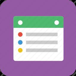note, notes, notetaking, task, tasklist, tasks icon