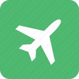 air, airport, holiday, leave, plane, travel icon