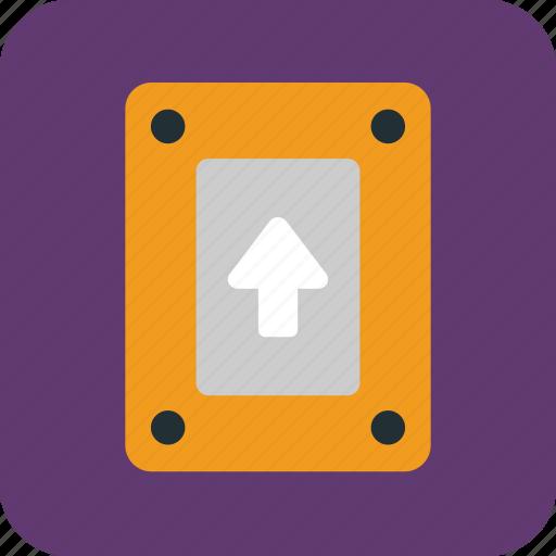 data, drive, hd, load, storage, store, upload icon