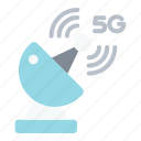 satellite, 5g, signal, technology, network