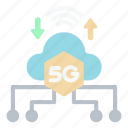 upload, 5g, signal, technology, device