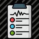 checklist, logistics, survey, todo list, bullets, documents