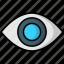 eye, eyesight, view, skill, vision, lense