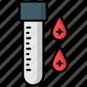 blood, test, blood test, laboratory tool, examine, test tube, medical test
