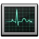 activity monitor, screen icon