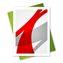 adobe, file, reader icon