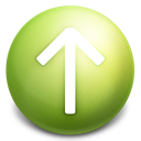 arrow, up icon