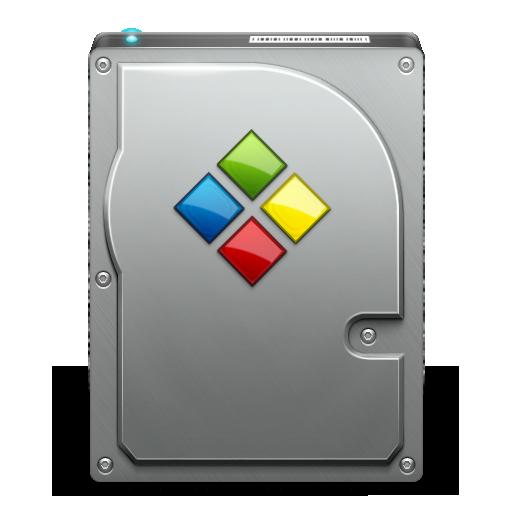 bootcamp, hd, or, windows icon