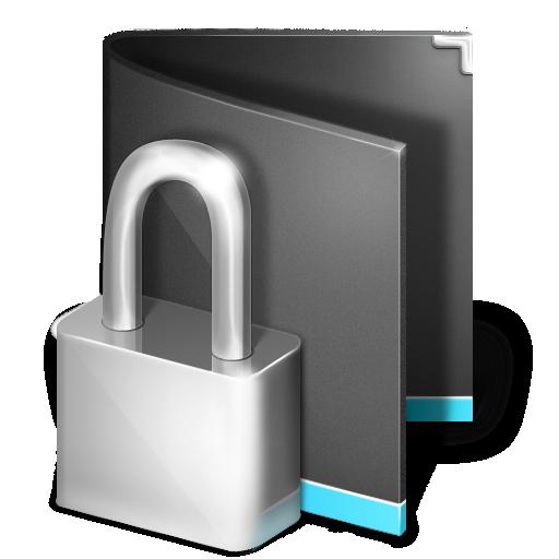 folder, private icon