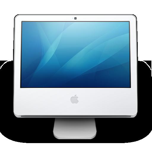 imac, mcbook pro, osx icon