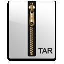 tar, gold, compressed, file