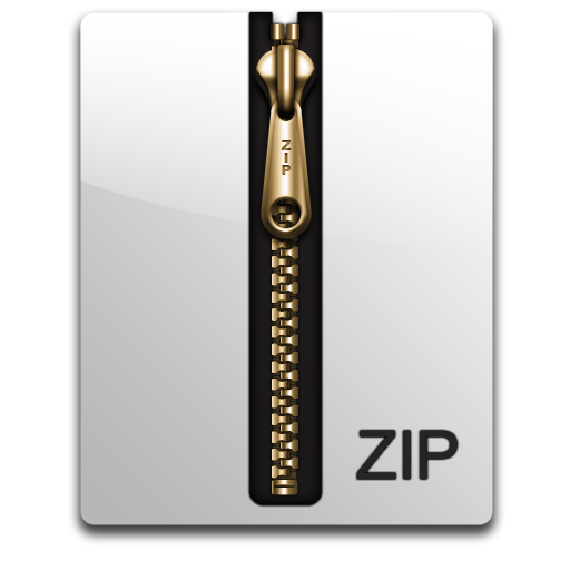 compressed, file, packed, zip, zipped icon