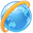 browser, earth, world icon