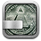money, stocks icon