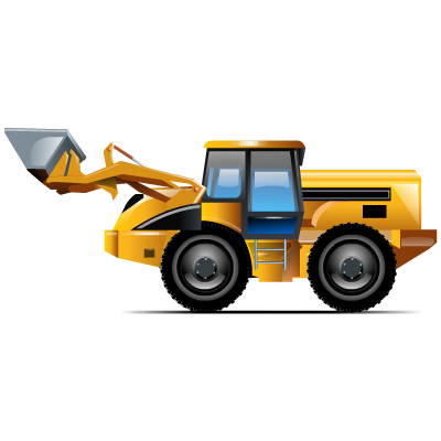 front, loader icon