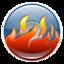 burn, cd icon
