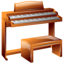 hammond, instrument, organ icon
