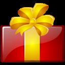 birthday, christmas, gift, present icon