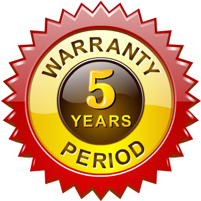 alphabetics, period, warranty icon