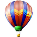 air, balloon, ballooning, hot icon