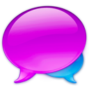 balloon, chat, references, talk icon