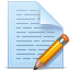 document, file, paper, pencil, write icon