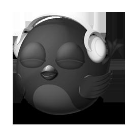 bird, songbird icon