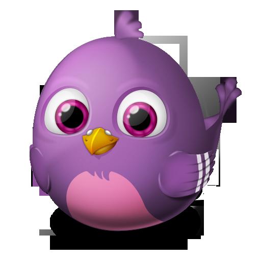 animal, bird, pidgin, twitter icon