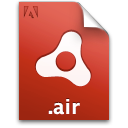 adobe, air, installer, package, file, document