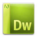 adobe, dreamweaver, file icon