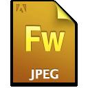fw, jpg, file, document icon