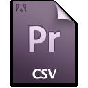 pr, csv, file, document