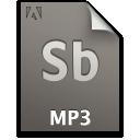 audio, document, file, mp3, sb, secondary icon