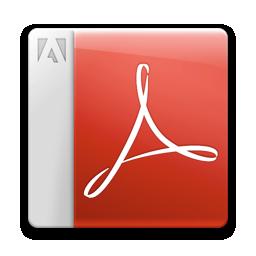 acrobat reader, adobe, pdf icon
