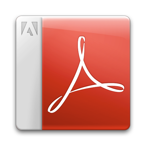acrobat reader, adobe, pdf icon