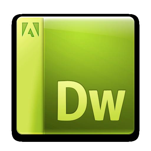 adobe, dreamweaver, file icon
