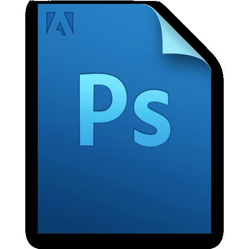 adobe, document, file, photoshop icon