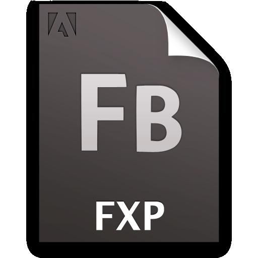 document, fb, file, fxp icon