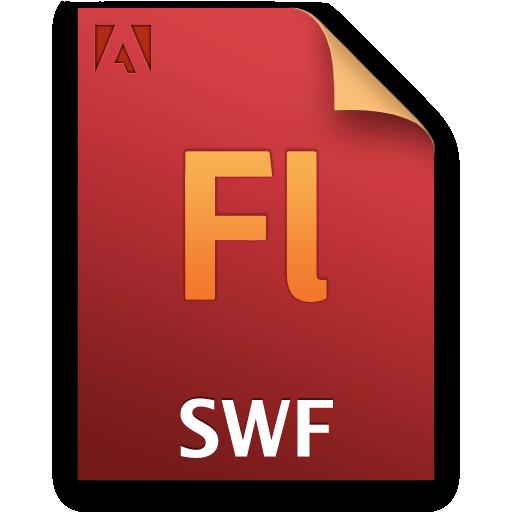 document, file, swf icon
