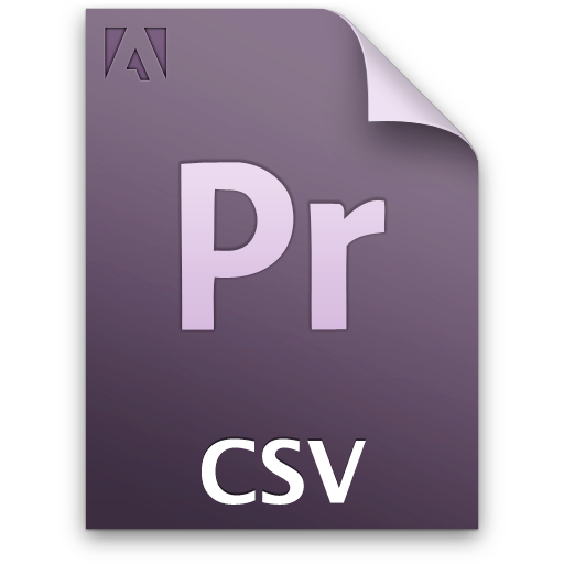 csv, document, file, pr icon