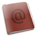 @, addressbook icon