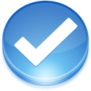 select, valid icon