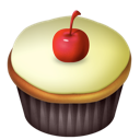 cherry, vanilla icon