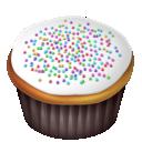 cake, food, white